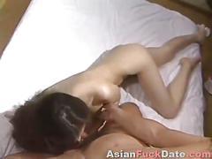 asian, blowjob, hardcore, japanese, sucking, tit licking