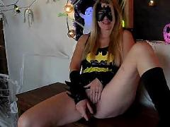 Batgirl and her dildo