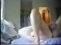 Hidden cam. my mom masturbate every day