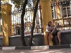 Nude in public 3