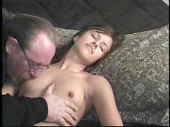 Jessica tries porno