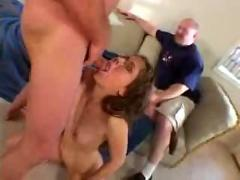 Watching his wife fucked in the ass 1 -f70