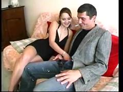 Alexia fucked by a bum