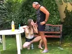 Drunken teen for old man (german) -f70