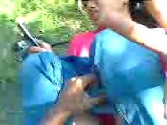 Malay - fucking on motor bike