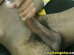 Huge black dick masturbation solo
