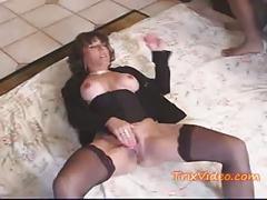 My granny's a nasty cum slut