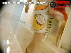 Hidden camera in public shower