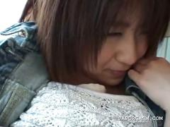 Shy teen asian having her assets grabbed by force