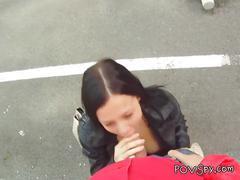 Hidden cam reveals her having hot oral in pov