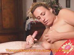 Milf mom fucks her son's friend