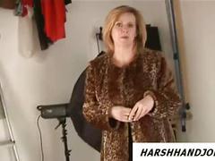 British milf works cock harsh after modelling