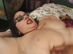 Rozzlyn (brunette bbw) & dirty harry (latino-american)