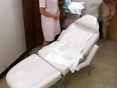 Full massage on beauty bed 2