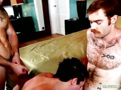 hunks, big cocks, threesome, amateurs, anal, hardcore, james jamesson, samuel o'toole, ass fucking, big cock, gay blowjob, gays, muscle man, stud