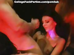 Group sex with one guy and five girls