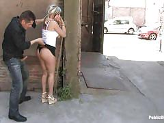 blonde, bdsm, babe, outdoor, blowjob, public sex, from behind, disgrace, public disgrace, kink, oliver, leyla black