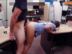 Pov fuck for the brunette medical worker