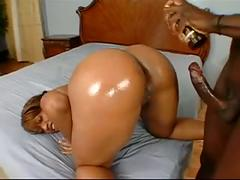 Big booty ebony ayana angel fucked by bbc