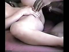 Blonde chick enjoys a big black dick