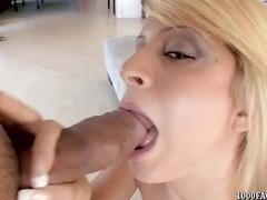 Caprice capone gets face painted with big cum shot