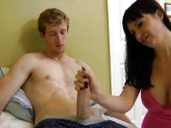 Tattoo mom extracts a huge sticky load