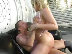 Slut gets fucked in her huge ass