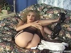 Vintage toe tease