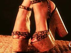 Darla de leon- my louboutin platform high heels