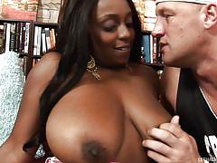 Busty black slut for my hard cock