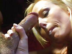 Hot blowjob in this classic porn