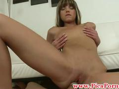 Realsex chica rides cock at an audition