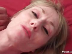 Horny amateur cock slut