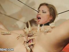 Szilvia loves torture fuck