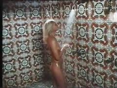 Hard erection shower sex scene