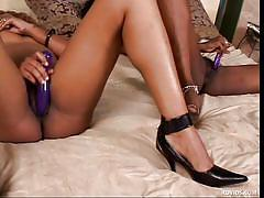Black, horny and lesbians