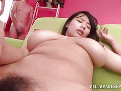 Hana takes multiple cum loads
