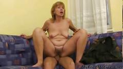 Older woman fuck young boy mature mature porn granny...