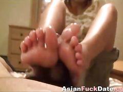 asian, masturbation, pov, footjob, feet, fetish, japanese, posing
