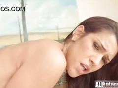 All internal samia duarte ass explodes full of hot cum creampie
