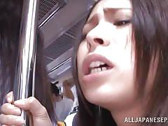Sexually exploited in a public transportation