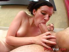 Elle se fait jouir a coups de reins sur son gros sexe !! french amateur
