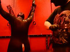 Master is having so much fun with his slave girl
