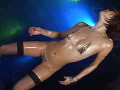 Micro bikini oily dance 2 - 03 nana kitami