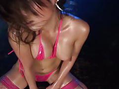 Micro bikini oily dance 2 - 05 shaka
