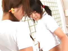Yukari and ayaka play with vibrator