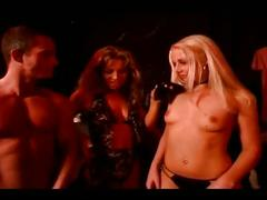 Hot slave girl pleases a horny couple