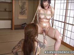 asian, bdsm, brunette, fisting, hairy pussy, lesbian, alt porn,