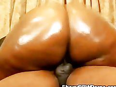 Horny ebony honey fucked