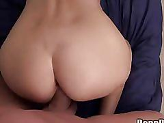 April o'neil sex in the college room